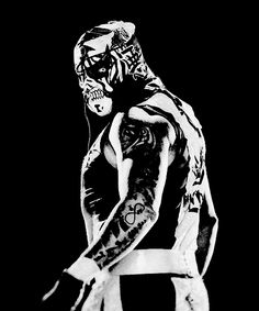 w: pentagon jr Lucha Underground, Triple Aaa, Blue Demon, Jr Art, Wwe Wallpapers, Professional Wrestling, Wwe Wrestlers, Pentagon, Samurai