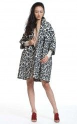 Tracy Reese Clutch Coat - I wanna look like a Snow Leopard! LOVE LOVE LOVE THIS COAT!!!