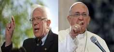 "Bernie Sanders And Pope Francis Launch Blistering Joint Attack On The 1% | Addicting Info | ""While Sanders is no doubt the long shot candidate of the election on the Democratic side of the aisle, he is also the most revolutionary and in touch with an element of U.S political opinion that is yet to be tapped by America's political elite. He has marked himself a man apart by shunning big donors in favor of popular support."" Click to read and share the full article."
