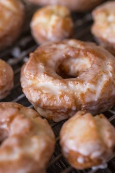 Old Fashioned Glazed Buttermilk Donuts Lovely Little Kitchen Recipe Donut Recipes Cake Donuts Recipe Homemade Doughnuts