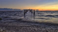 The old jetty on Snettisham beach in Norfolk ( UK ) Norfolk, Old Things, Celestial, Sunset, Beach, Water, Photos, Outdoor, Gripe Water