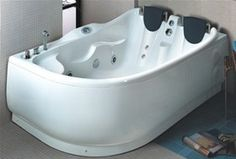 hydra pro  whirlpool bath for two people.  left hand. 1800x1200mm. - taps4less.com