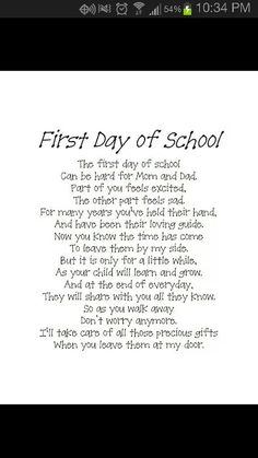 This is going to be such a bitter sweet moment for me... I can't believe my baby boy is starting kindergarten this year