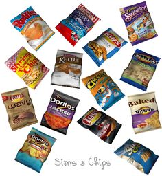 omfgingers:   Chips for sims 3.   Download - Eris Sims 3 CC Finds
