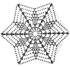 Best 7 beautiful, beautiful, christmas center in crochet. View and share – Crochet Designs Free – SkillOfKing. Crochet Cape Pattern, Crochet Snowflake Pattern, Crochet Motif Patterns, Crochet Stars, Crochet Snowflakes, Crochet Diagram, Thread Crochet, Crochet Designs, Crochet Flowers
