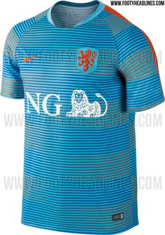 634d907ab3e Netherlands 2016 Pre-Match and Training Kits Leaked - Footy Headlines Football  Uniforms, Soccer