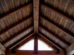 rustic ceilings | rustic-vaulted-cabin-ceiling