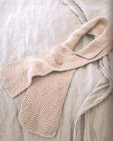 The Knitters Year by Debbie Bliss  Collared Scarf