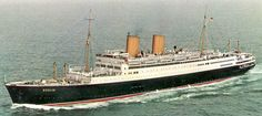 MS Berlin. German Ocean Liner. I sailed on her from New York to Bremerhaven, Germany in the late 1950's. She was launched in 1926 as the 'Gripsholm' owned by Swedish Lines and sold to Lloyd Lines of Germany in the 1950's. It was scrapped in the early 1960's