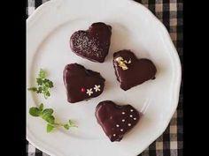 【バレンタインにお勧め】かわいいハートのふわふわコーティングケーキ - YouTube