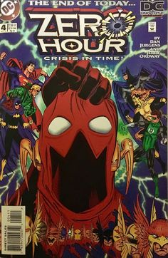 Chris is on Infinite Earths: Zero Hour: Crisis in Time #4 (1994)