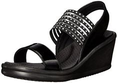 d121fca6945d Skechers Cali Women s Rumbler Sci-Fi Wedge Sandal     Check this awesome  image