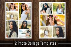 Photo Collage Template Photoshop PSD by Supremer Studio on @creativemarket