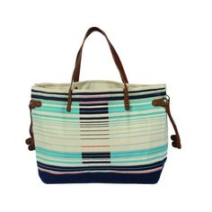 Heavy canvas and beatifully Laced with designed trims. http://www.yologear.co.uk/bags-purses-wallets/shoulder-bags/marine.php
