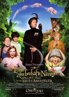Poster zum Film: zauberhafte Nanny, Eine - Knall auf Fall ein neues Abenteuer