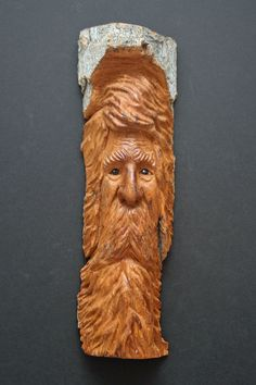 Wood Spirit Carving by William Rogers