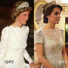 both are beautiful, but Diana shined brighter than the Lovers Knot Tiara <3