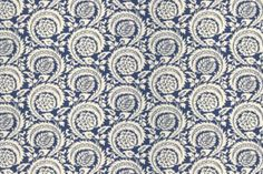 Another pretty blue and white fabric