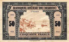 50 Francs (1943) Maroc