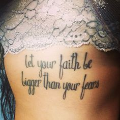 Quote #tattoo, They say a picture's worth a thousand words but not in this case! There are so many great types of fonts you can apply to your favorite saying or something that you believe in.