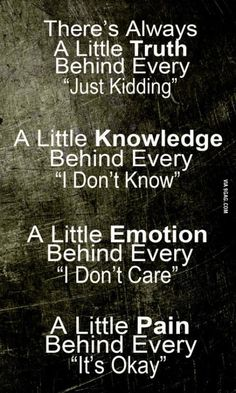 There's always a little..