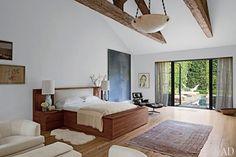 JENNI KAYNES DREAMY BEVERLY HILLS HOME - Le Fashion/gauzy window panels
