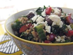 a dinner reminder: kale & millet salad | Everybody Likes Sandwiches