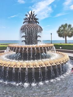 { Pineapple Fountain // a must-see in Charleston, SC }