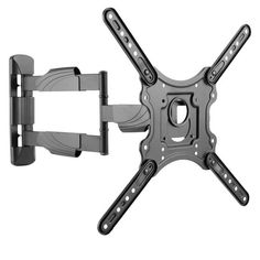 "Shop CorLiving Full Motion Flat Panel Wall Mount for TVs up to 55"" - Overstock - 20696789 Swivel Tv Wall Mount, Tv Wall Mount Bracket, Wall Mounted Tv, Support Mural Tv, Support Tv, Tv Panel, Flat Panel Tv, Montage Tv, Full Motion Wall Mount"