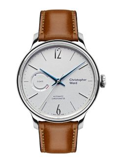 The new Christopher Ward Grand Malvern Power Reserve watch with images, price, background, specs, & our expert analysis. Cw Watches, Fine Watches, Watches For Men, Dress Watches, Moonphase Watch, Christopher Ward, Swiss Made Watches, Popular Watches, Watch 2