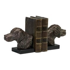 Hound Dog Bookends - Set of 2