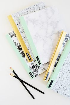 An Easy and Creative Way to Customize Your School Notebooks   eHow