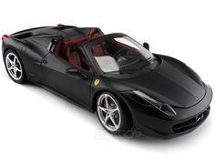 "Ferrari 458 Italia Spyder ""Elite Version"" 1:18 Scale - Hot Wheels Diecast Model (Mt.Black) #ferrari #scuderiaferrari #458 #458italia #488 #f12 #dino #enzo #enzoferrari #laferrari #italia #ferraricalifornia #308gto #599gto #speciale #supercar #hypercar #thegrandtour #diecast #118scale #124scalemodelcars"
