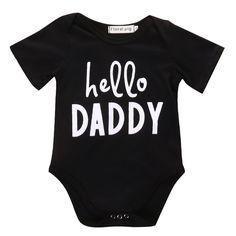 Hello Daddy Bodysuit