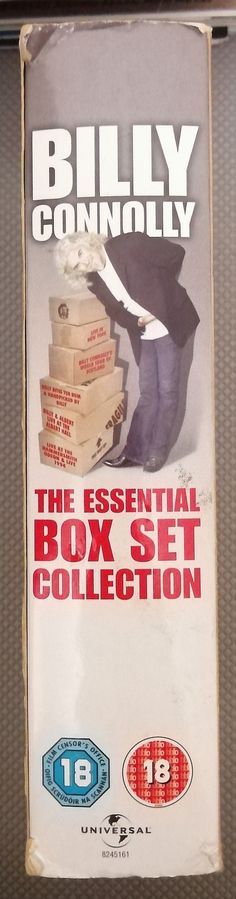 The Essential Box Set Collection. in the Movies category was listed for on 6 Sep at by TomHarvey in Vereeniging Underworld Trilogy, Woodworking Vice, Billy Connolly, Scotland Tours, Movie Categories, Picture Comments, Vintage Records, The Essential, Stand Up Comedy