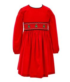 We've completely fallen in love with the current selection of Christmas dresses for little girls so much that we'll happily forfeit the loss from them out dressing us this holiday season. #littlegirlchristmasoutfit #christmasdresses #girlschristmasdress #holidayoutfit #southernliving Little Girl Christmas Dresses, Little Girl Dresses, Little Girls, Bonnie Jean, Southern Style, Holiday Outfits, Flare Dress, Fit And Flare