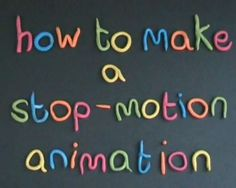 Here is a superb instruction video useful for students on how to make stop-motion animation! It was made by Catherine Elliott, the training manager at Sheffield South City Learning Centre. (some ot… High School Art, Middle School Art, Animation Image Par Image, Stop Motion Movies, Animation Stop Motion, Stop Frame Animation, Computer Art, Art And Technology, Teaching Technology