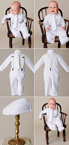 4b367da6c Payton Suspender Christening Outfit. Outfit For ChristeningBaby Boy ...