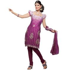 Fabdeal Womenu0027s Indian Designer Wear Embroidered Salwar Violet - //.desitoga  sc 1 st  Pinterest : womens indian costumes  - Germanpascual.Com