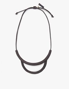 Arc Necklace in Black