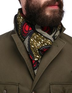 while I'm not a fan of wearing scarves (I get too hot), this is quite lovely, so may have to make an exception!