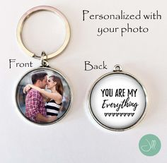 "Boyfriend Gift, gift for boyfriend, gift for husband - ""You are my everything""…"