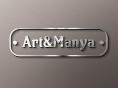 Diseño de logotipo para Art&Manya.