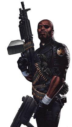 Greg Land - Ultimate Nick Fury