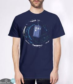 """Space and Time and The Universe"" Doctor Who T-Shirt 