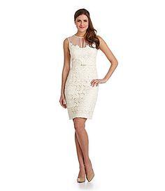 Maggy London Daisy Organza Dress #Dillards REHEARSAL DINNER