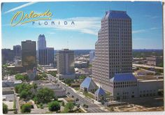 Postcard of Orlando, FL, maybe late 80s/early 90s.