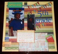 Patrick 5th grade graduation - Scrapbook.com