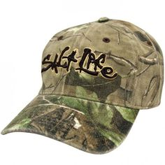 Realtree Camo Stretch Fit Cap ( 22) ❤ liked on Polyvore featuring  accessories c94a49e8ca07