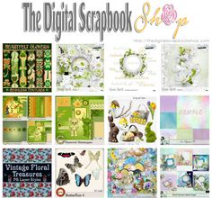 🌺 ~ The Digital ScrapBook Shop ~ 🌺 Check out our NEW Releases & Promo 🌺 http://mailchi.mp/c4639ac991a0/tdss-mar13